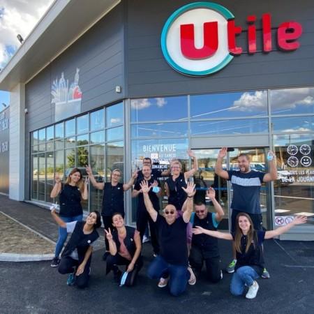 Préparation Opérationnelle à l'Emploi magasin Utile de Oytier St Oblas (38)